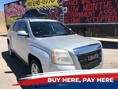 2011 GMC Terrain for sale at Rock Star Auto Sales in Las Vegas NV
