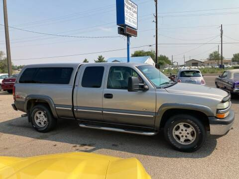 2000 Chevrolet Silverado 1500 for sale at AFFORDABLY PRICED CARS LLC in Mountain Home ID