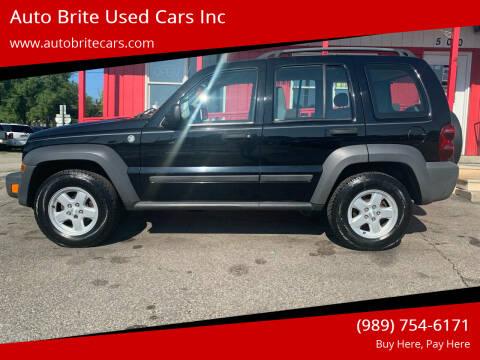 2007 Jeep Liberty for sale at Auto Brite Used Cars Inc in Saginaw MI