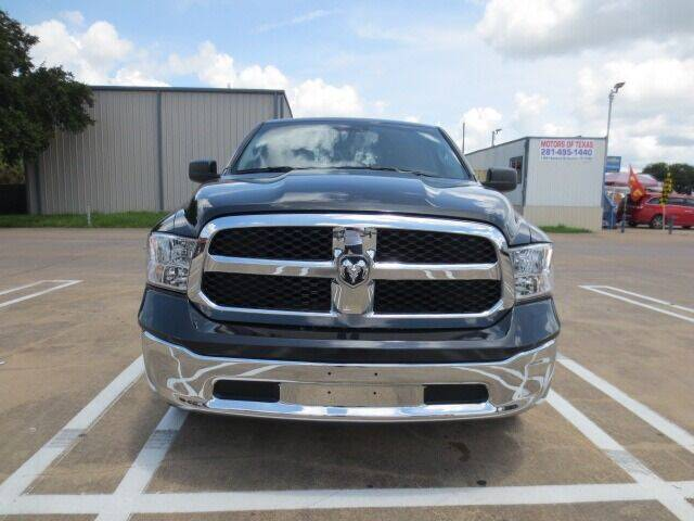 2018 RAM Ram Pickup 1500 for sale at MOTORS OF TEXAS in Houston TX
