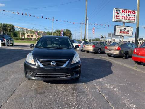 2012 Nissan Versa for sale at King Auto Deals in Longwood FL