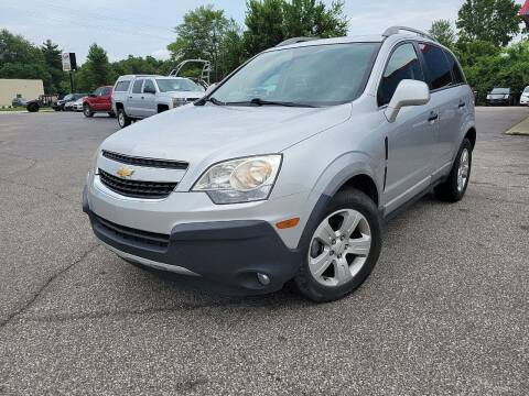 2014 Chevrolet Captiva Sport for sale at Cruisin' Auto Sales in Madison IN