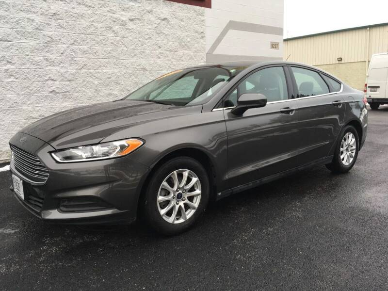 2016 Ford Fusion for sale at Ryan Motors in Frankfort IL
