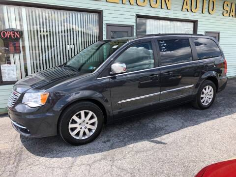 2011 Chrysler Town and Country for sale at Superior Auto Sales in Duncansville PA