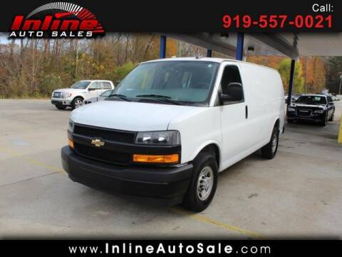 2019 Chevrolet Express Cargo for sale at Inline Auto Sales in Fuquay Varina NC