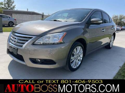 2015 Nissan Sentra for sale at Auto Boss in Woods Cross UT