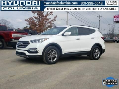 2017 Hyundai Santa Fe Sport for sale at Hyundai of Columbia Con Alvaro in Columbia TN