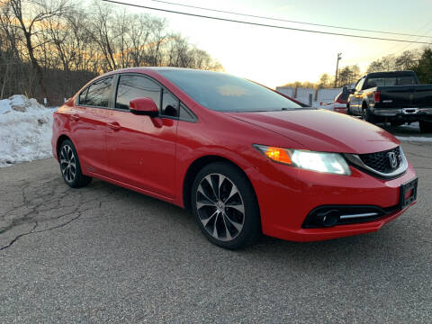 2013 Honda Civic for sale at George Strus Motors Inc. in Newfoundland NJ