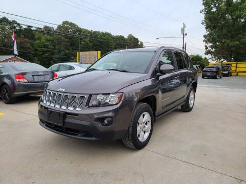 2016 Jeep Compass for sale at DADA AUTO INC in Monroe NC