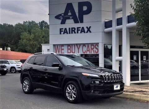 2018 Jeep Cherokee for sale at AP Fairfax in Fairfax VA