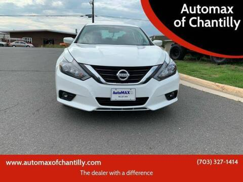 2018 Nissan Altima for sale at Automax of Chantilly in Chantilly VA