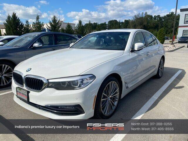 2018 BMW 5 Series for sale at Fishers Imports in Fishers IN
