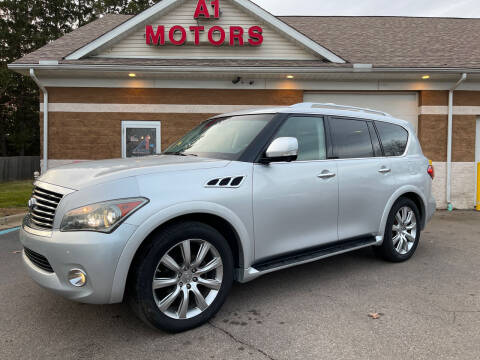 2011 Infiniti QX56 for sale at A 1 Motors in Monroe MI