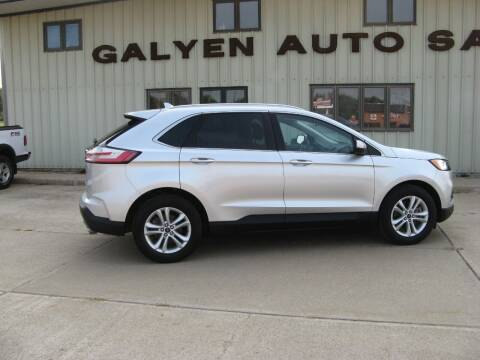 2019 Ford Edge for sale at Galyen Auto Sales Inc. in Atkinson NE