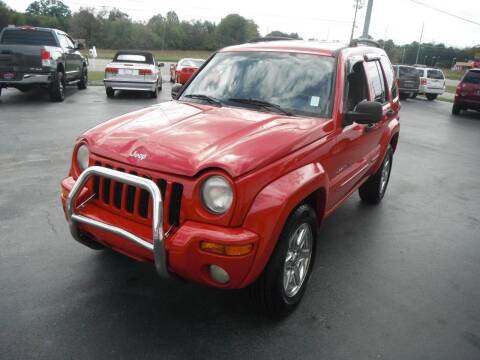 2003 Jeep Liberty for sale at Morelock Motors INC in Maryville TN