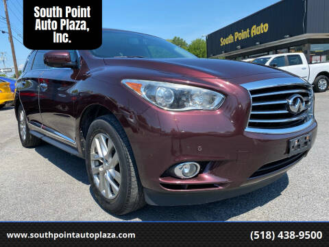 2013 Infiniti JX35 for sale at South Point Auto Plaza, Inc. in Albany NY