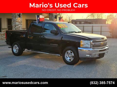 2013 Chevrolet Silverado 1500 for sale at Mario's Used Cars - Pasadena Location in Pasadena TX