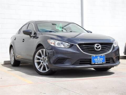 2016 Mazda MAZDA6 for sale at Joe Myers Toyota PreOwned in Houston TX