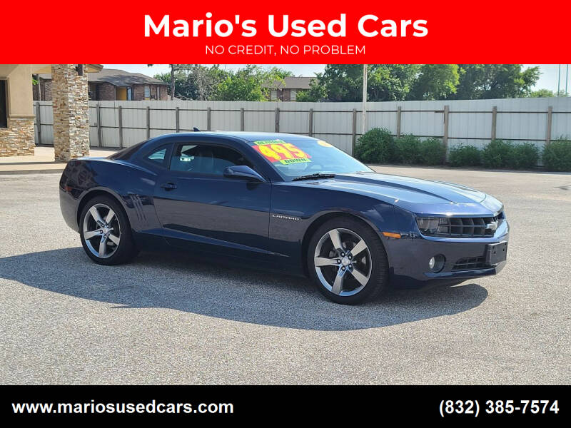 2012 Chevrolet Camaro for sale at Mario's Used Cars - Pasadena Location in Pasadena TX