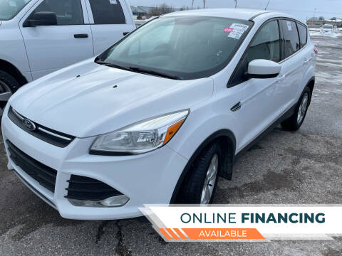 2016 Ford Escape for sale at Strait-A-Way Auto Sales LLC in Gaylord MI