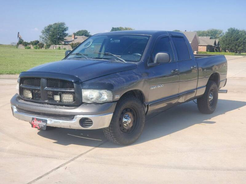 2004 Dodge Ram Pickup 1500 for sale at Chihuahua Auto Sales in Perryton TX