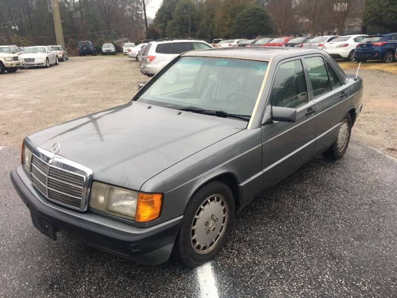 1991 Mercedes-Benz 190-Class for sale at Deme Motors in Raleigh NC