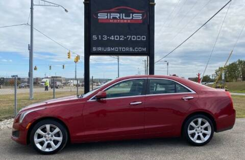 2013 Cadillac ATS for sale at SIRIUS MOTORS INC in Monroe OH