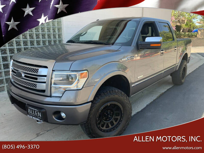 2013 Ford F-150 for sale at Allen Motors, Inc. in Thousand Oaks CA