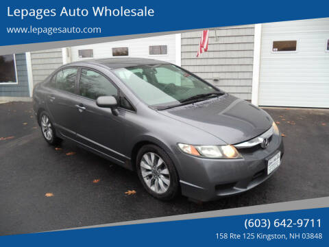 2010 Honda Civic for sale at Lepages Auto Wholesale in Kingston NH