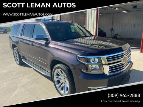 2016 Chevrolet Suburban for sale at SCOTT LEMAN AUTOS in Goodfield IL