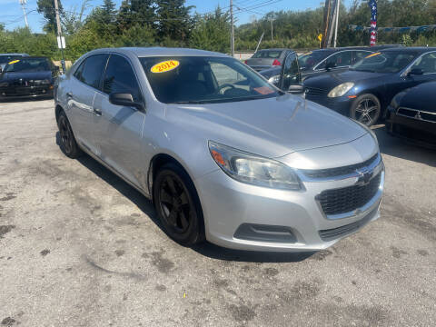 2014 Chevrolet Malibu for sale at I57 Group Auto Sales in Country Club Hills IL