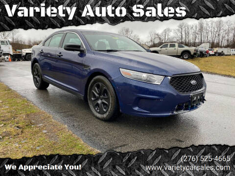2013 Ford Taurus for sale at Variety Auto Sales in Abingdon VA