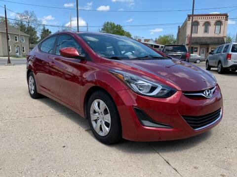 2016 Hyundai Elantra for sale at Auto Gallery LLC in Burlington WI