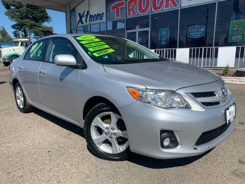 2011 Toyota Corolla for sale at Xtreme Truck Sales in Woodburn OR