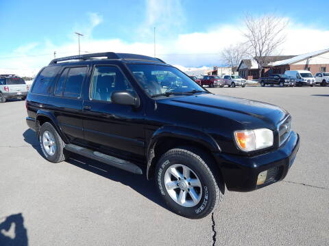 2004 Nissan Pathfinder for sale at West Motor Company - West Motor Ford in Preston ID