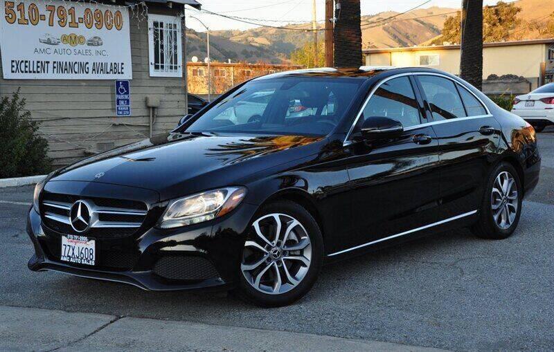 2018 Mercedes-Benz C-Class for sale at AMC Auto Sales, Inc. in Fremont CA