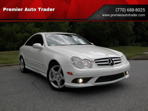 2009 Mercedes-Benz CLK for sale at Premier Auto Trader in Alpharetta GA