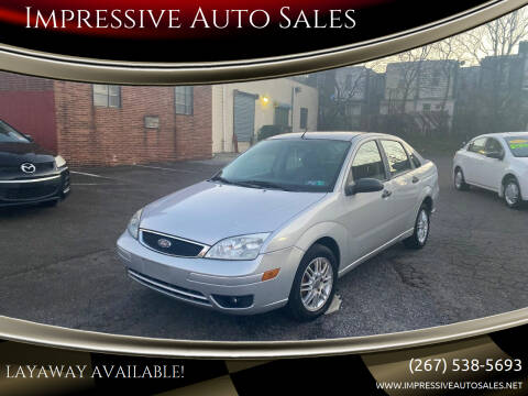2007 Ford Focus for sale at Impressive Auto Sales in Philadelphia PA