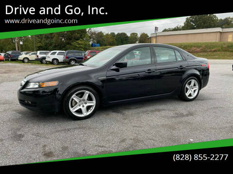 2006 Acura TL for sale at Drive and Go, Inc. in Hickory NC
