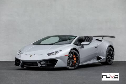 2017 Lamborghini Huracan for sale at Nuvo Trade in Newport Beach CA