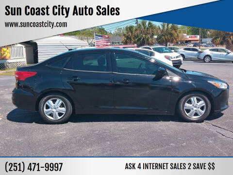 2016 Ford Focus for sale at Sun Coast City Auto Sales in Mobile AL