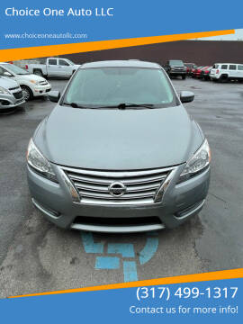 2013 Nissan Sentra for sale at Choice One Auto LLC in Beech Grove IN