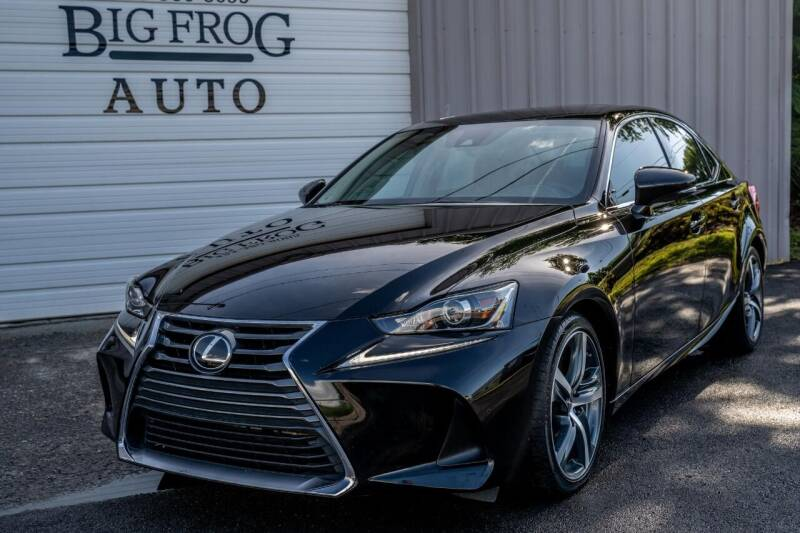 2017 Lexus IS 200t for sale at Big Frog Auto in Cleveland TN