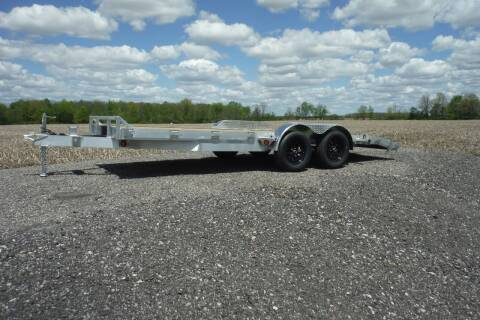 2022 Quality Steel ALUMINUM 18 FT CAR HAULER for sale at Bryan Auto Depot in Bryan OH