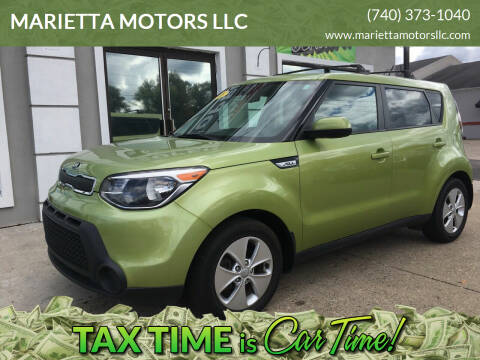 2015 Kia Soul for sale at MARIETTA MOTORS LLC in Marietta OH