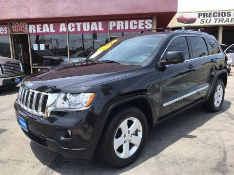 2013 Jeep Grand Cherokee for sale at Sanmiguel Motors in South Gate CA