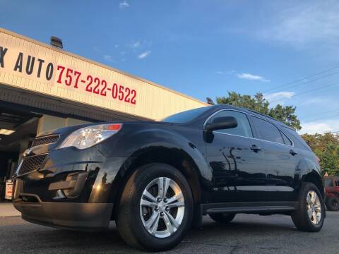 2014 Chevrolet Equinox for sale at Trimax Auto Group in Norfolk VA