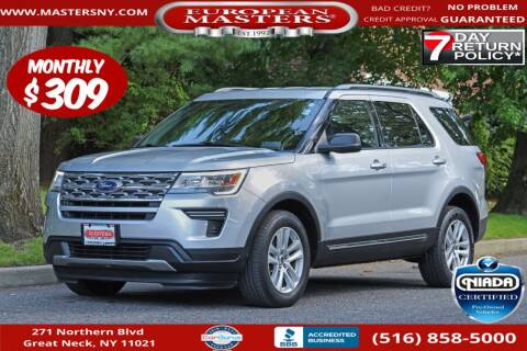 2018 Ford Explorer for sale at European Masters in Great Neck NY