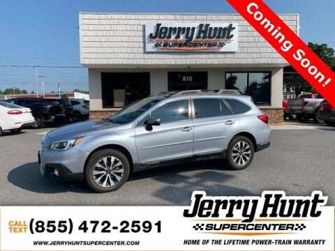2017 Subaru Outback for sale at Jerry Hunt Supercenter in Lexington NC
