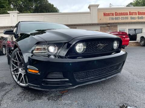 2013 Ford Mustang for sale at North Georgia Auto Brokers in Snellville GA